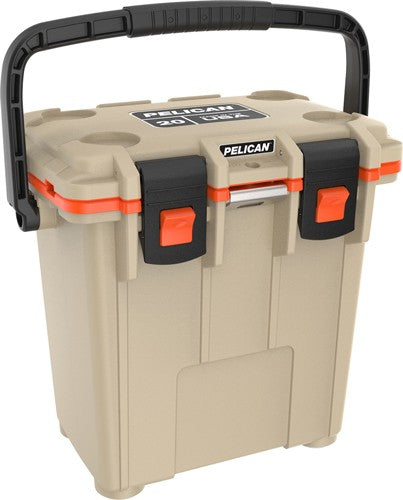 Pelican Coolers Im 20 Quart - Elite Tan-orange Leg Cut Out