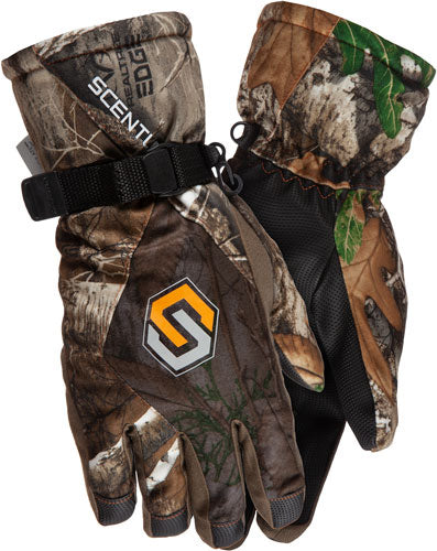 Scentlok Shooter Glove Full - Season Touch Tech Rt-edge Os