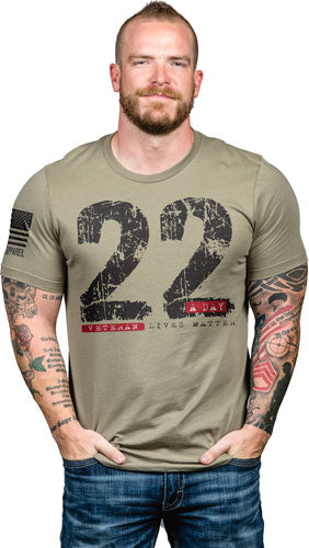 Nine Line Apparel 22day Men's - T-shirt Coyote Large