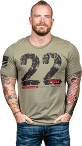 Nine Line Apparel 22day Men's - T-shirt Coyote X-large