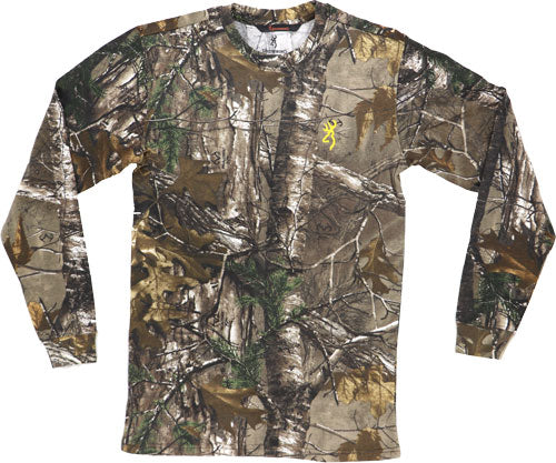 Bg Men's Long Sleeve T-shirt - Hc Basics Small Realtree Xtra<