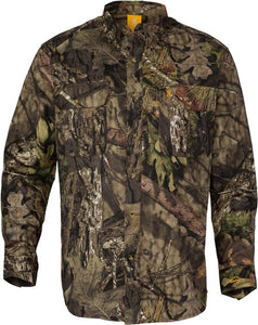 Bg Wasatch-cb Shirt L-sleeve - Mo-breakup Country Camo Medium