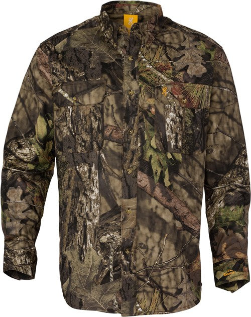 Bg Wasatch-cb Shirt L-sleeve - Mo-breakup Country Camo Large
