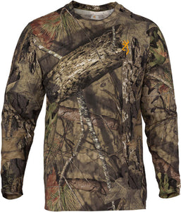 Bg Wasatch-cb T-shirt L-sleeve - Mo-breakup Country Camo Large