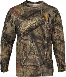 Bg Wasatch-cb T-shirt L-sleeve - Mo-breakup Country Camo 2x-lg