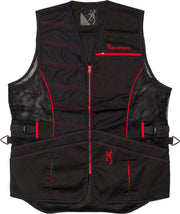 Bg Ace Shooting Vest R-hand - Medium Black-red Trim