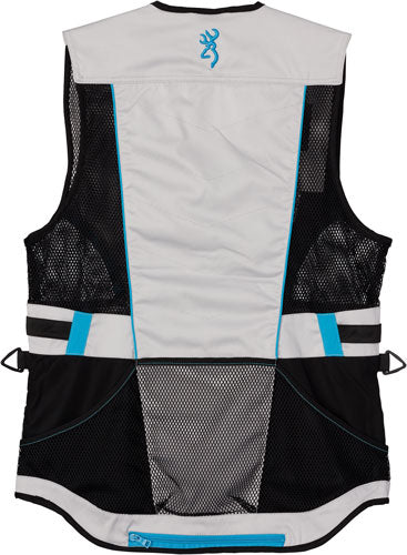 Bg Ace Shooting Vest Women's - X-small Teal For Her