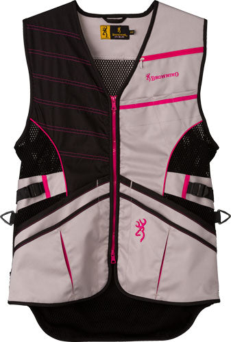 Bg Ace Shooting Vest Women's - Medium Pink For Her