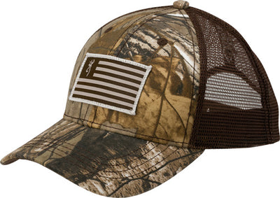 Bg Cap Patriot Flag-buck Mark - Patch Rtree Xtra Adjustable