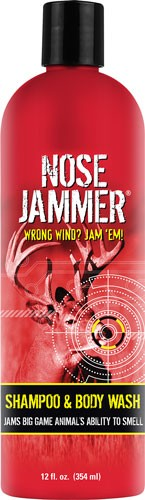 Nose Jammer Shampoo And Body - Wash 12 Ounces Squeeze Bottle