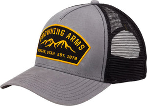 Bg Cap Ranger Logo Gray - W-buck Mark Logo Adjustable