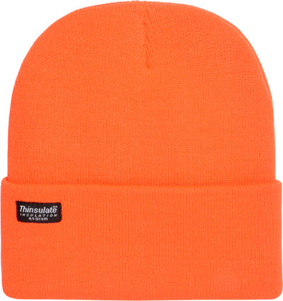 Hot Shot Basics 2-ply Knit Cap - Commander Blaze Insulated