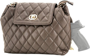 Cameleon Coco Concealed Carry - Purse-quilted Style Handbag Bn