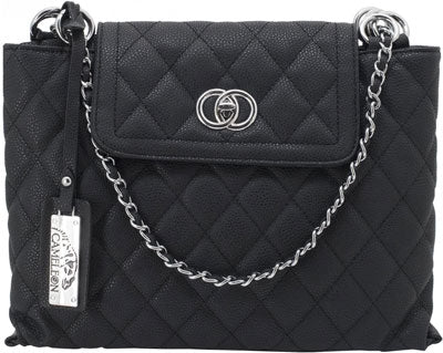 Cameleon Coco Concealed Carry - Purse-quilted Style Handbag Bl