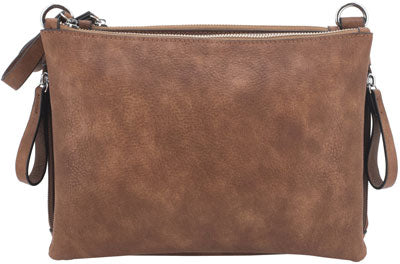 Cameleon Iris Concealed Carry - Purse-cross Body Style Brown
