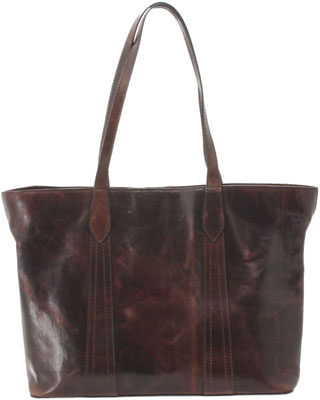 Cameleon Gaia Conceal Carry - Purse Open Tote Brown Leather