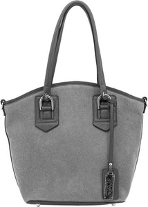 Cameleon Selene Conceal Carry - Purse Open Tote Grey