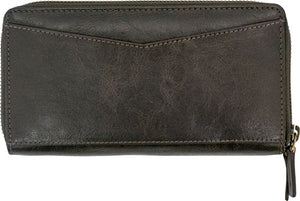 Cameleon Leto Women's Wallet - Brown Leather