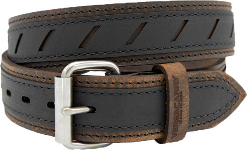 "Vc Double Ply Underground Belt - 36""x1.5"" Distress Brn-black"