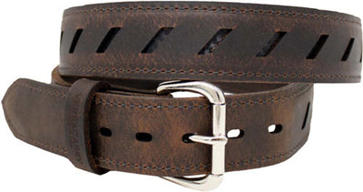 "Vc Compound Double Ply Belt - 46""x1.5"" Leather-kydex Brown"