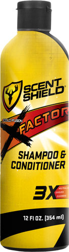 Scent Shield Shampoo & - Conditioner Silver Shield 12oz
