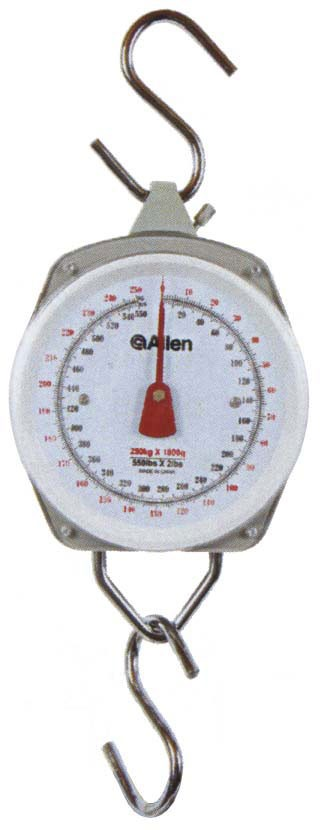 Allen Scale 550lbs. -