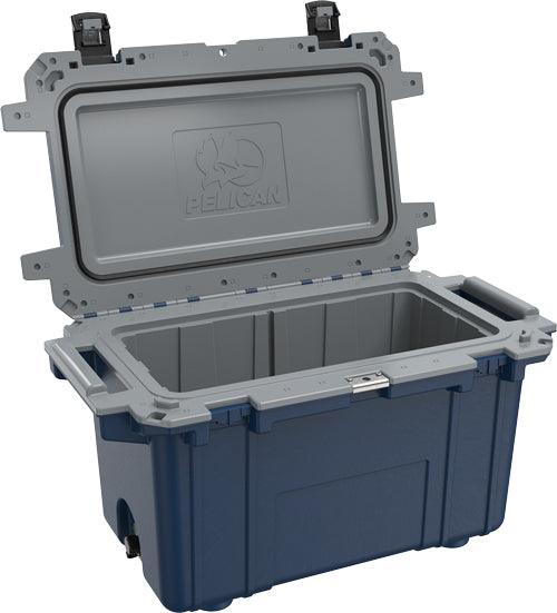 Pelican Cooler Im 70 Quart - Elite Pacific Blue-gray Trim