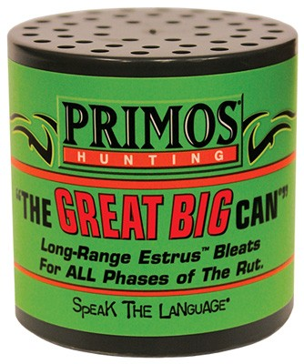 Primos Deer Call Can Style - The Great Big Can