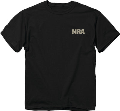 "Buck Wear T-shirt Nra ""we - Plead The 2nd"" Black Large"