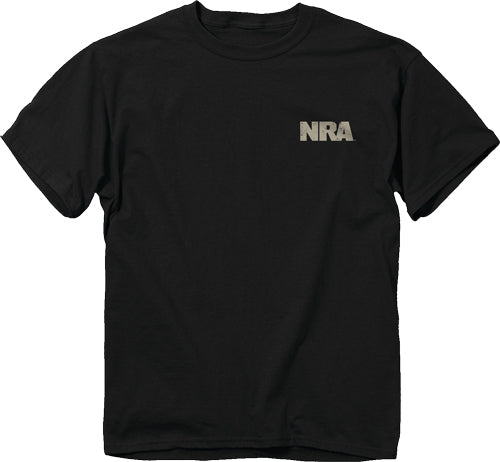 "Buck Wear T-shirt Nra ""we - Plead The 2nd"" Black Medium"