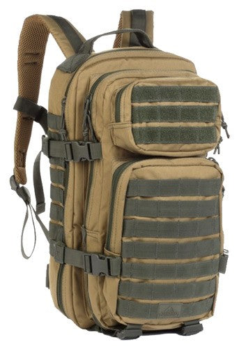 Red Rock Rebel Assault Pack - Coyote W- Olive Webbing