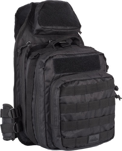 Red Rock Recon Sling Bag Black - Tear Away Feature Main Compart