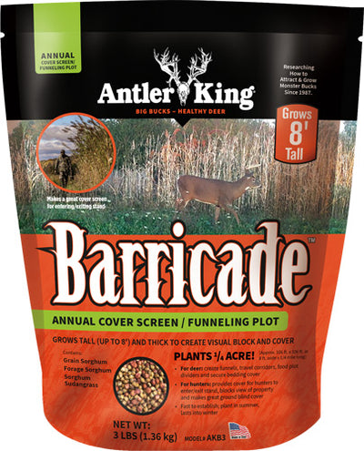 Antler King Barricade Cover - Screen 3# Annual 1-4 Acre