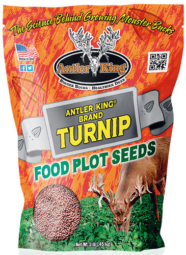 Antler King Turnips 1# Bag - Annual 1-8 Acre