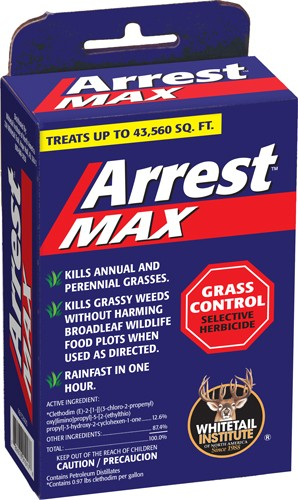 Whitetail Institute Herbicide - Arrest Max Grass 1pt 1acre