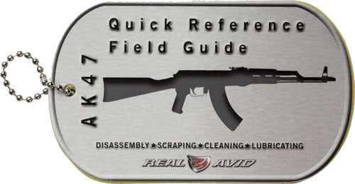 Real Avid Ak47 Field Guide - Ak47 Maintenance Cards