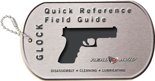 Real Avid Glock Field Guide - Glock Maintenance Cards