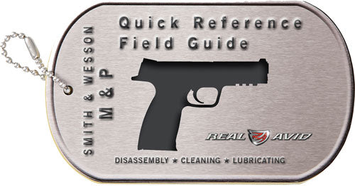 Real Avid S&w M&p Field Guide - S&w M&p Maintenace Cards