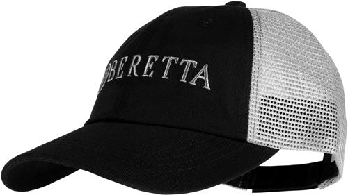 Beretta Cap Trucker L.profile - Cotton Mesh Back Black