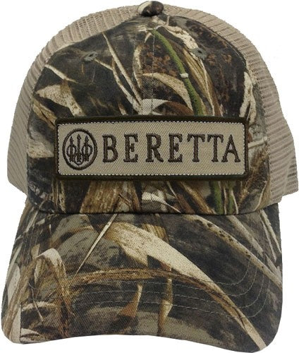 Beretta Cap Trucker W-patch - Cotton Mesh Back Rt-max5 Camo