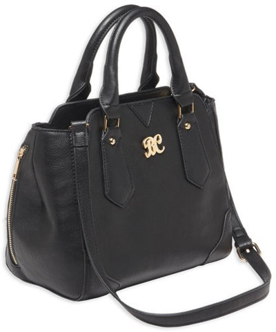 Bulldog Concealed Carry Purse - Satchel Black W-black Trim