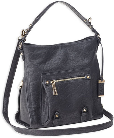 Bulldog Concealed Carry Purse - Hobo Anna Black
