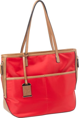 Bulldog Concealed Carry Purse - Tote Style Nylon Bright Red!