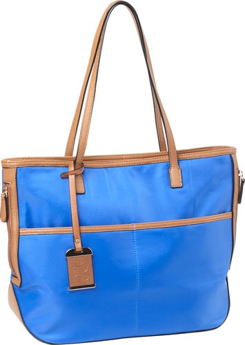 Bulldog Concealed Carry Purse - Tote Style Nylon Electric Blu!