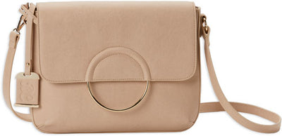 Bulldog Concealed Carry Purse - Conv Hobo-crossbody Blush