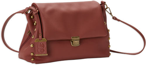 Bulldog Concealed Carry Purse - Conv Hobo-crossbody Rust