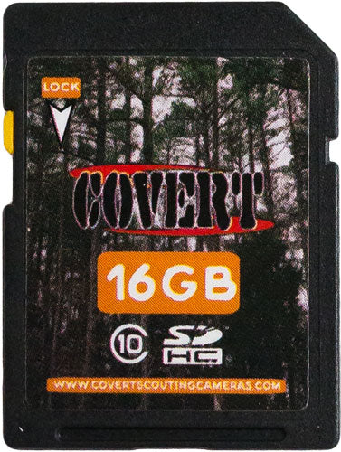 Covert Camera 16gb Sd Memory - Card Class 10 High Speed