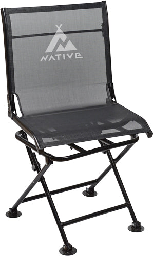 30-06 Native Comfort Chair - 360 Swivel Black