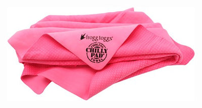 Frogg Toggs Cooling Towel - Original Chilly-pad Pink