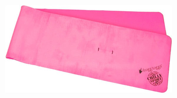 Frogg Toggs Cooling Towel - Head Band Chilly-sport Pink